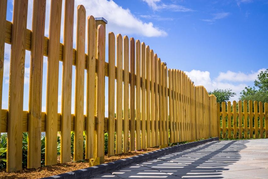 Garden Fences installed by Elite Carpentry Swansea